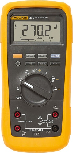 multimetr FLUKE 27II - - - ks