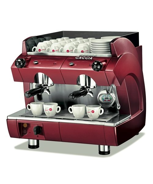 Gaggia GD Compact 2 GR - Red - - - ks