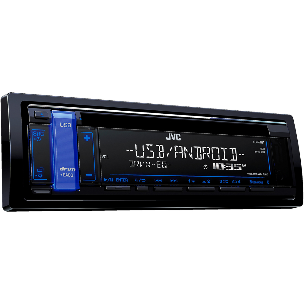 Autorádio s CD/MP3/BT JVC - - - ks