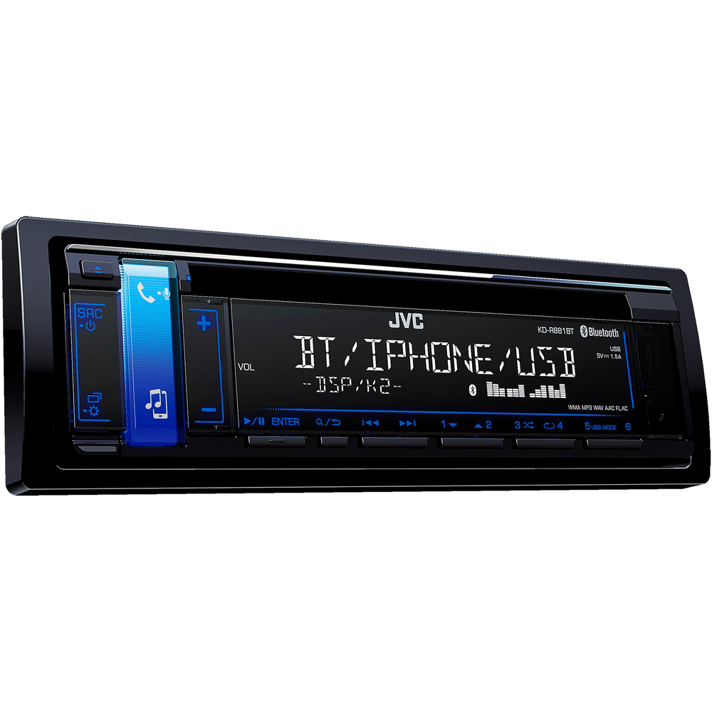 Autorádio s CD/USB/BT JVC - - - ks