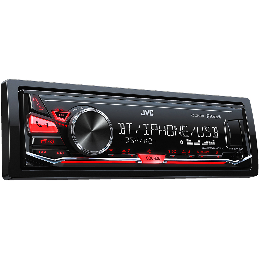 Autorádio s USB/MP3/BT JVC - - - ks
