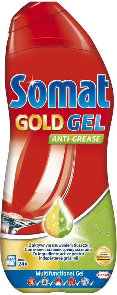 Somat gel Gold Anti-Grease 600ml - - - ks