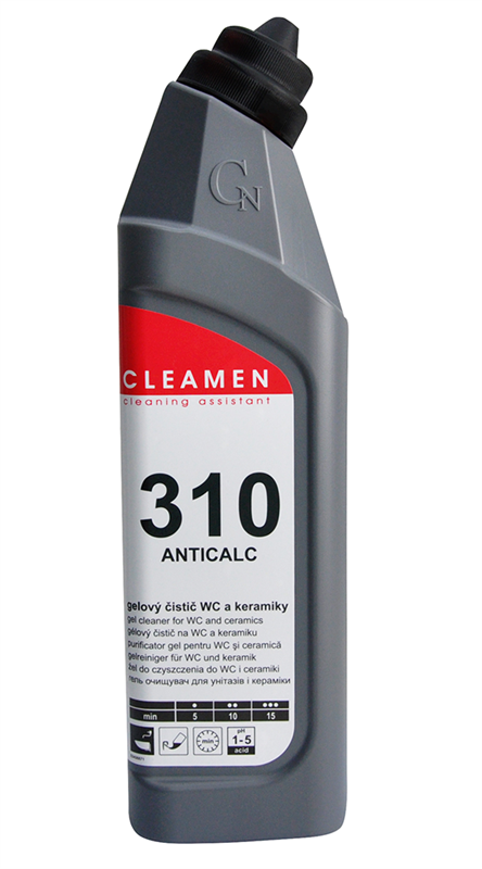Cleamen 310 Anticalc WC čistič 750ml - - - ks