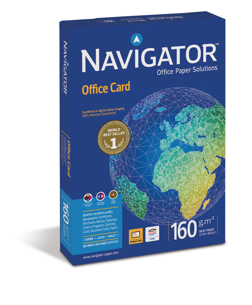 papír xer.A4 160g/250l Navigator Office Card - - -