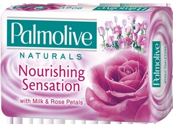 Palmolive mýdlo Milk Rose 90g - - - ks