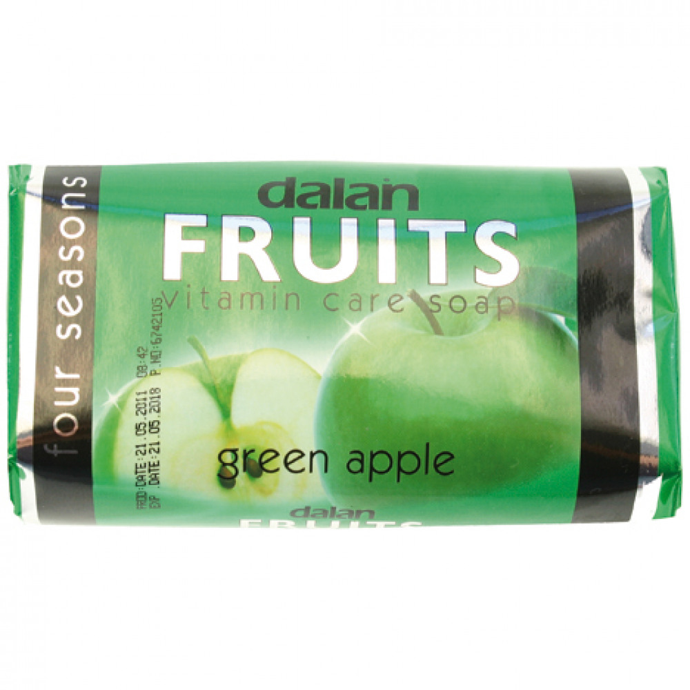 Mýdlo Dalan Fruits Green apple 100g - - - ks