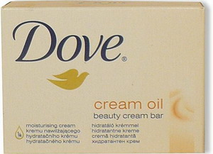 Dove Cream Bar Oil mýdlo 100g - - - ks