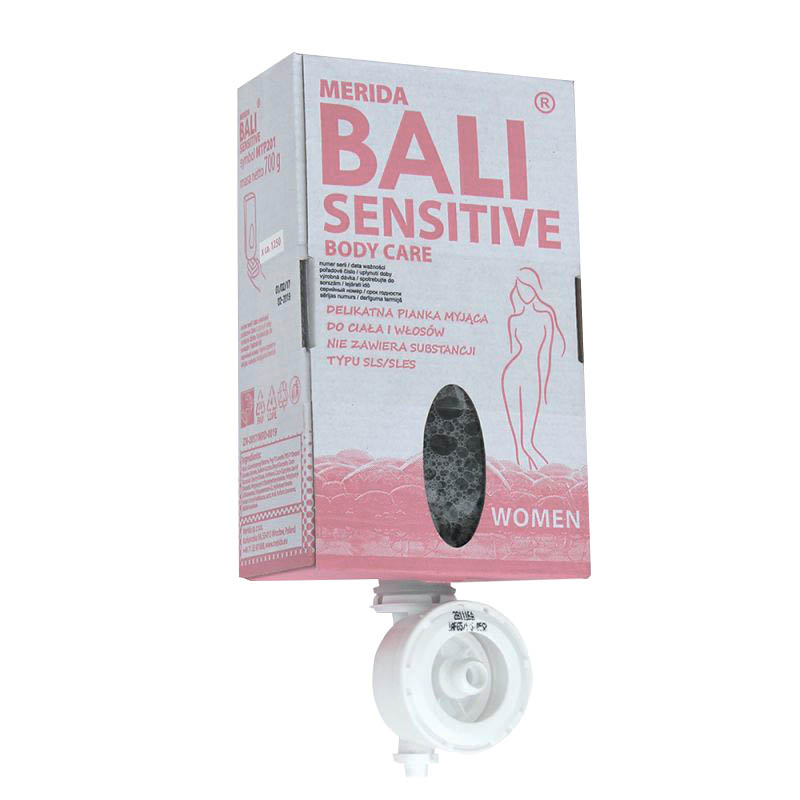 mýdlo pěn.Merida Bali Sensitive women 700g - - - ks