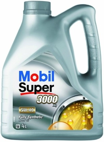 MOBIL SUPER 3000 X1 5W-40. SYNTHETIC 4l - - - ks