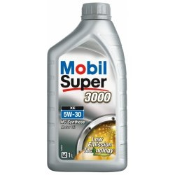 MOBIL SUPER 3000 FORMULA V 5W-30, SAE 5W-30 SYNTHETIC. 1l - - - ks