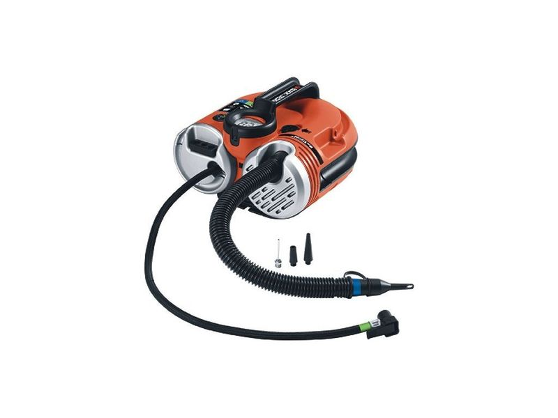 BLACK DECKER ASI500 Kompresor bezolejový.12L, 11bar, MINI 12V - - - ks